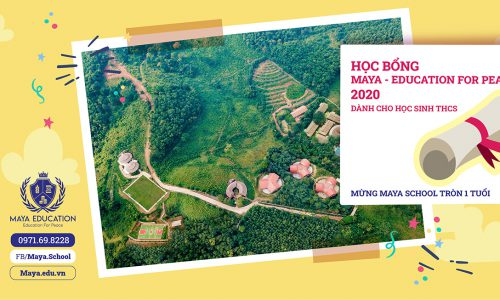 Học bổng MAYA-EDUCATION FOR PEACE dành cho THCS